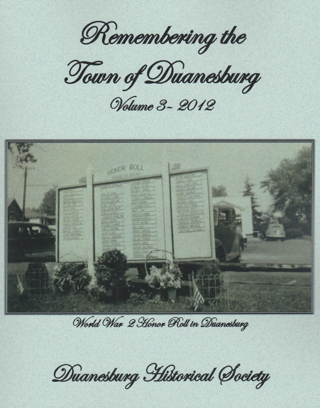 Remembering the Town of Duanesburg - Volume 3 - 2012